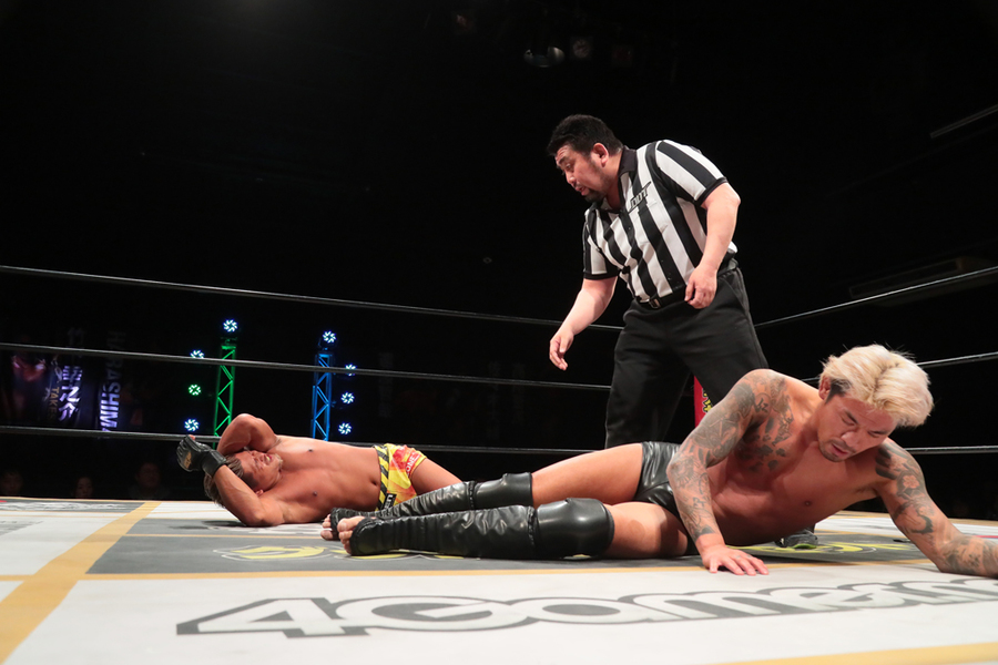 "DDT: ""April Fool 2019 in Shinkiba"" Oishi es retador de Endo 3"