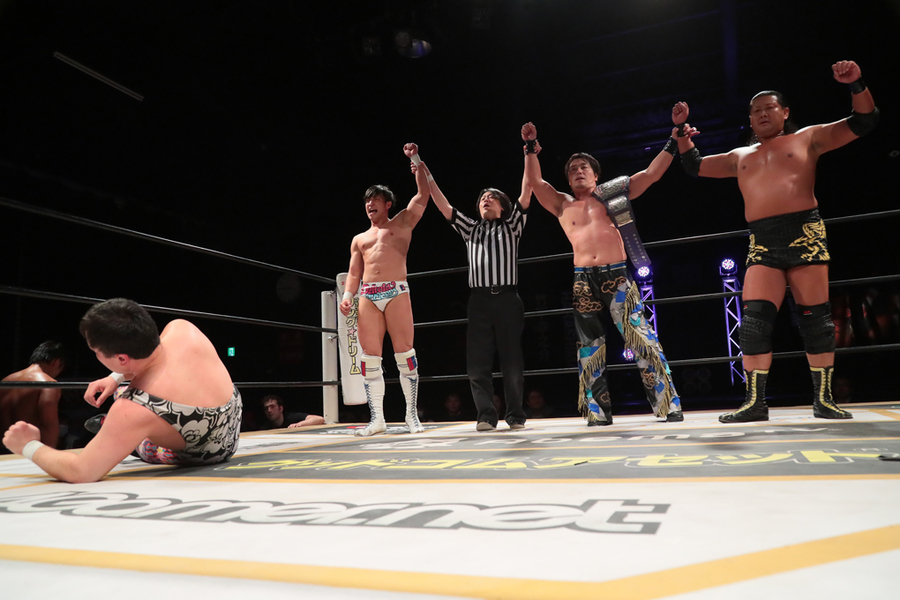 "DDT: ""April Fool 2019 in Shinkiba"" Oishi es retador de Endo 4"