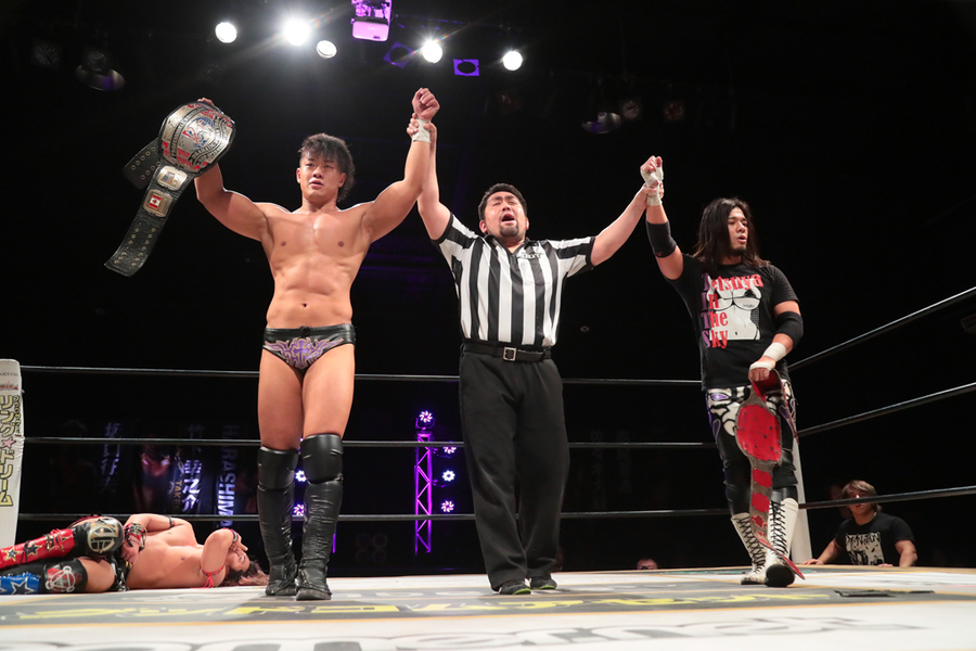 "DDT: ""April Fool 2019 in Shinkiba"" Oishi es retador de Endo 5"