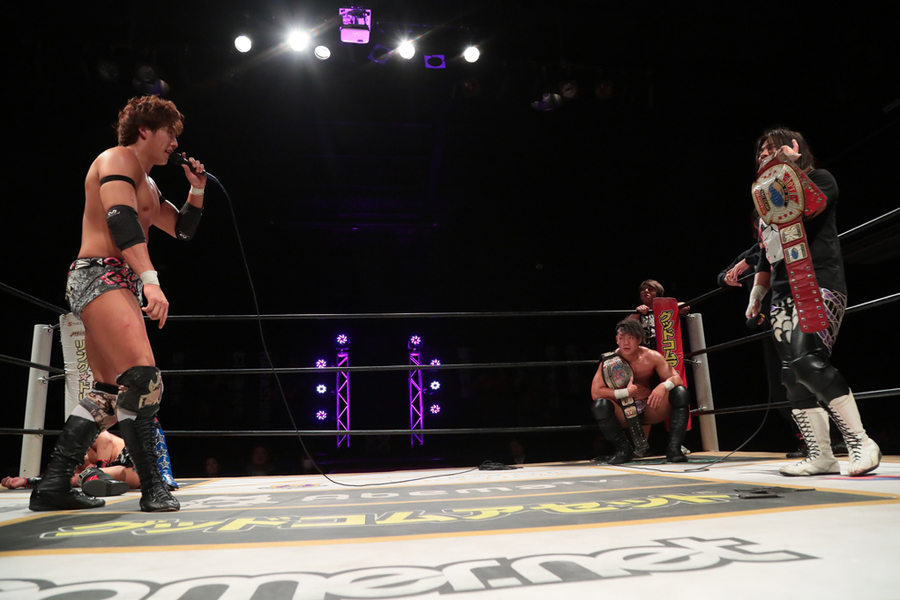"DDT: ""April Fool 2019 in Shinkiba"" Oishi es retador de Endo 6"
