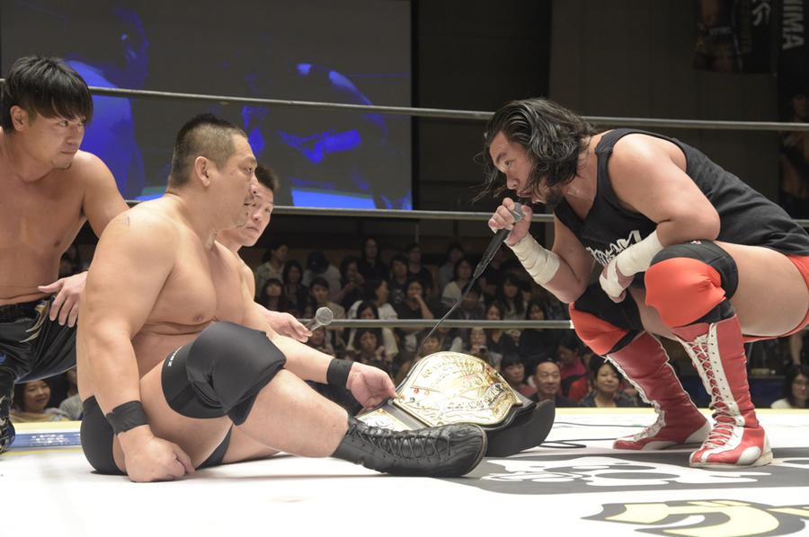 """DDT: """"Summer Vacation 2019"""" Konosuke Takeshita defiende su cetro 4"""