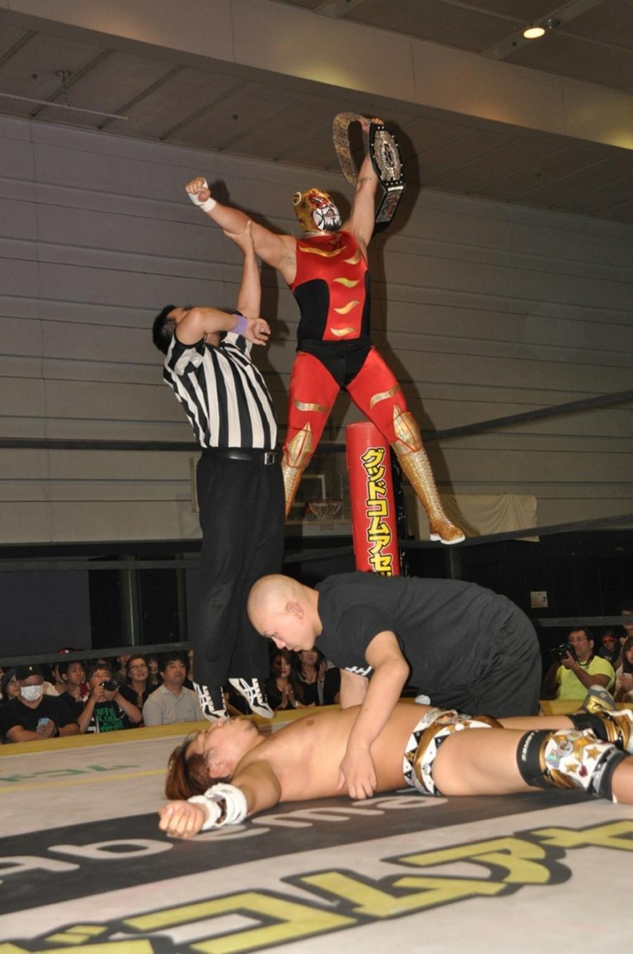 "DDT: ""Osaka Octopus 2019"" Cuatro títulos en disputa 3"