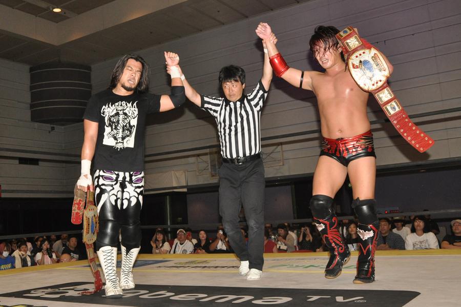 "DDT: ""Osaka Octopus 2019"" Cuatro títulos en disputa 6"