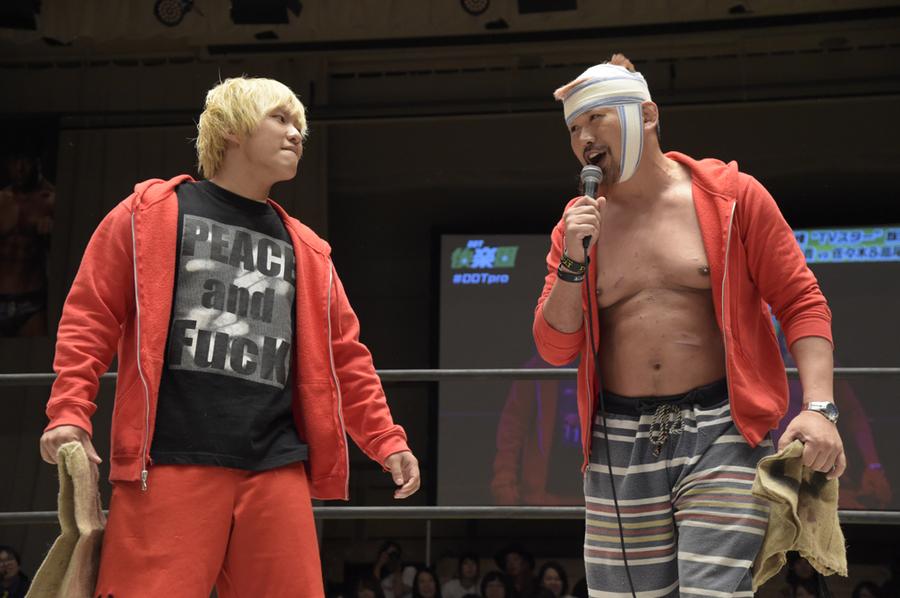 "DDT: ""Who's Gonna Top? 2019"" HARASHIMA campeón extremo 6"