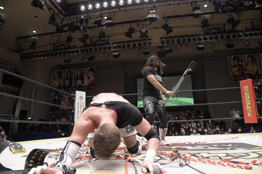 "DDT: ""Into the Fight 2020"" Chris Brookes y Masato Tanaka, monarcas 6"