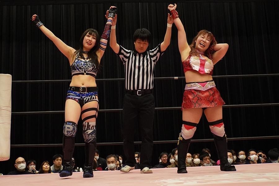Tokyo Joshi Pro Hikari Noa & Yuki Aino