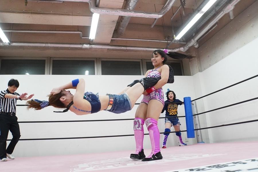 Tokyo Joshi Pro Yuki Miu Mirai