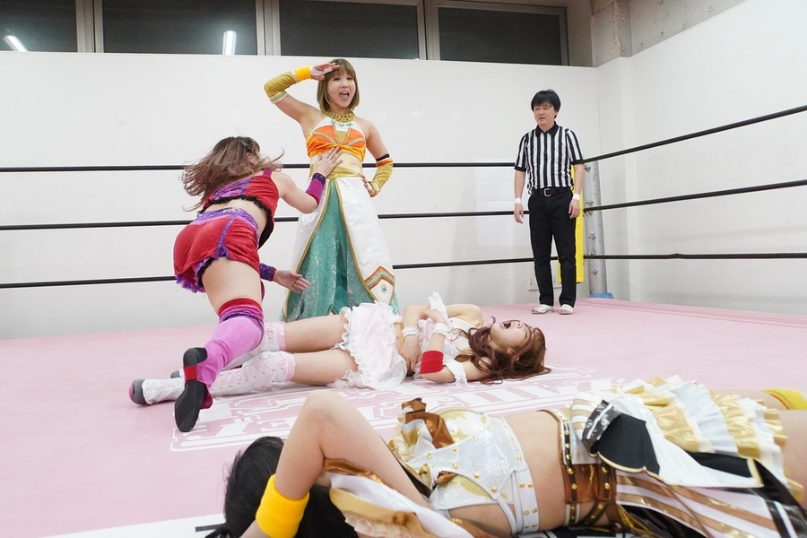 Tokyo Joshi Pro Aino Yuka Mizuki