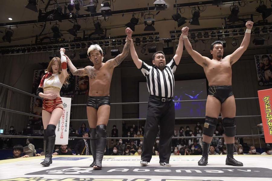 """DDT: """"Judgement 2020"""" Daisuke Sasaki es campeón, Masato Tanaka retiene 4"""