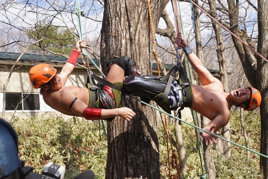 "DDT: ""Nasukogen Nature School Pro Wrestling Again!"" Lucha en el campamento 11"