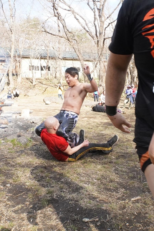 "DDT: ""Nasukogen Nature School Pro Wrestling Again!"" Lucha en el campamento 13"