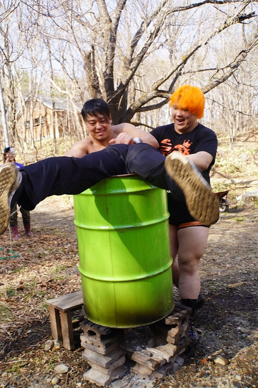 "DDT: ""Nasukogen Nature School Pro Wrestling Again!"" Lucha en el campamento 12"