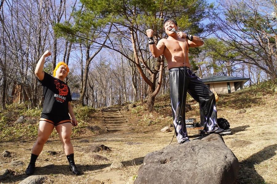 "DDT: ""Nasukogen Nature School Pro Wrestling Again!"" Lucha en el campamento 14"
