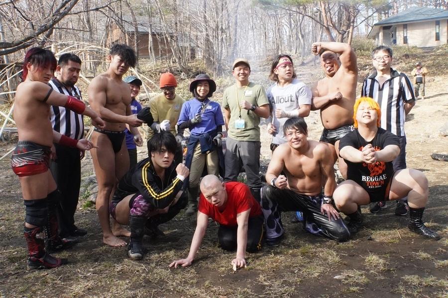 "DDT: ""Nasukogen Nature School Pro Wrestling Again!"" Lucha en el campamento 2"