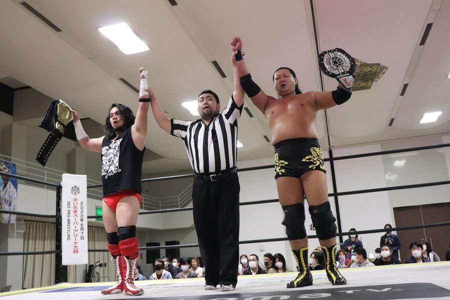 "DDT: ""Dramatic Hyakumangoku! 2020"" Business Alliance se coronan 2"