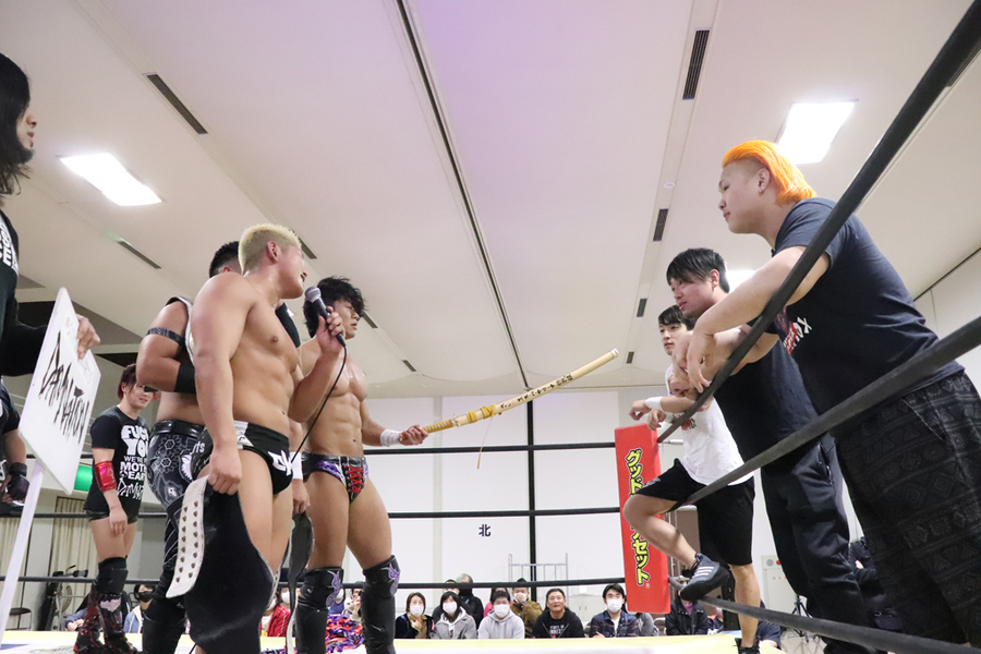 "DDT: ""Dramatic Hyakumangoku! 2020"" Business Alliance se coronan 5"