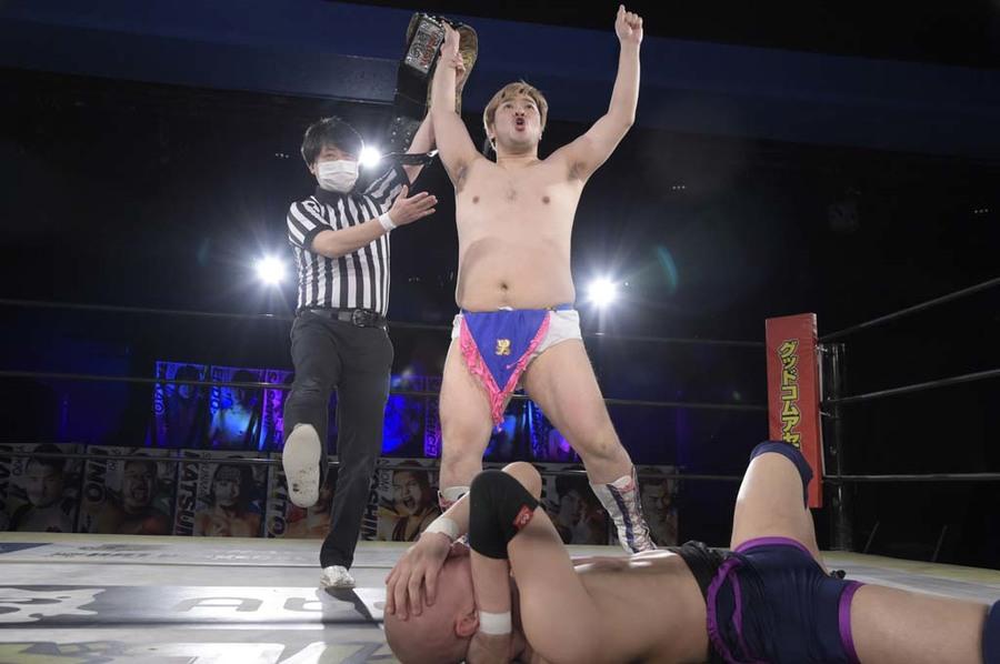 """DDT: """"DDT TV Show! #2"""" Masato Tanaka sigue reinando 3"""