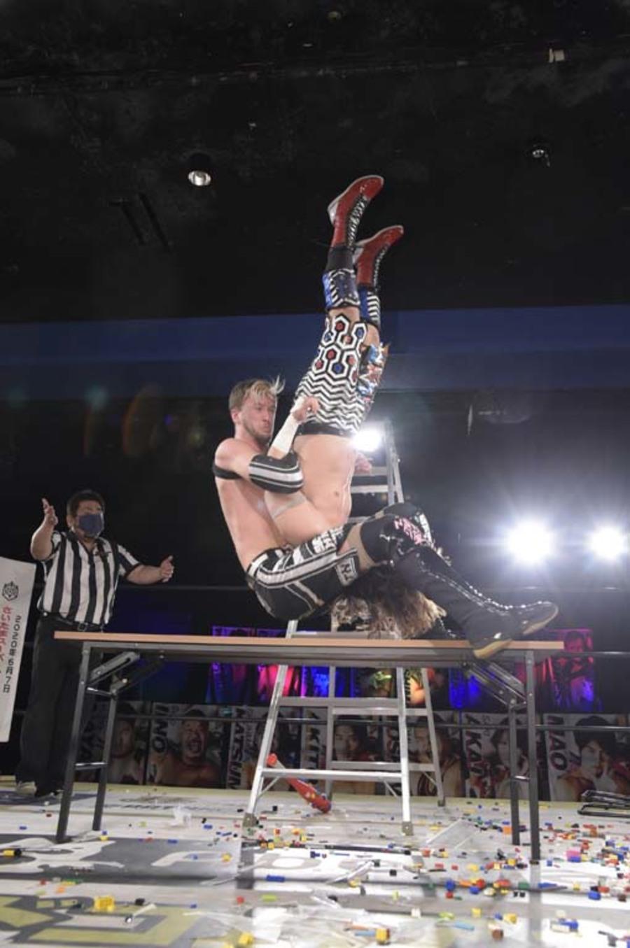 """DDT: """"DDT TV Show! #2"""" Masato Tanaka sigue reinando 6"""
