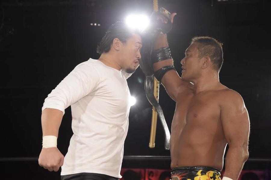 """DDT: """"DDT TV Show! #2"""" Masato Tanaka sigue reinando 9"""