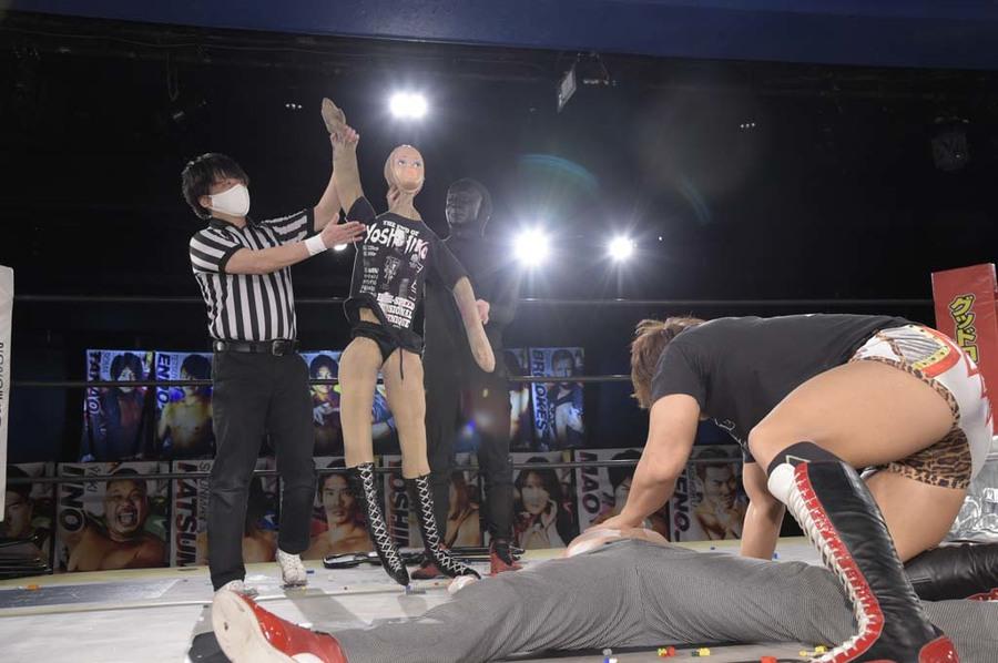 """DDT: """"DDT TV Show! #3"""" Tetsuya Endo es retador al título principal 2"""