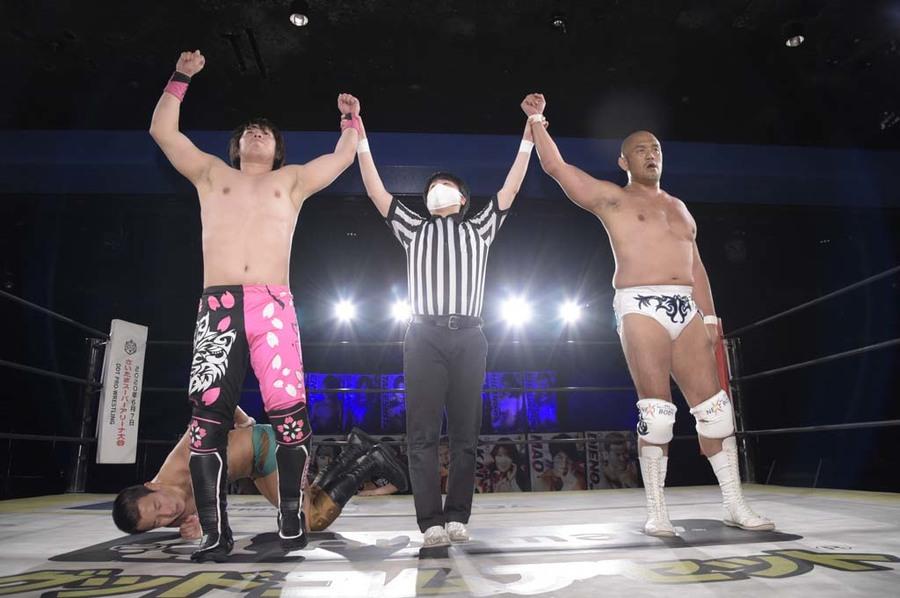 """DDT: """"DDT TV Show! #3"""" Tetsuya Endo es retador al título principal 4"""
