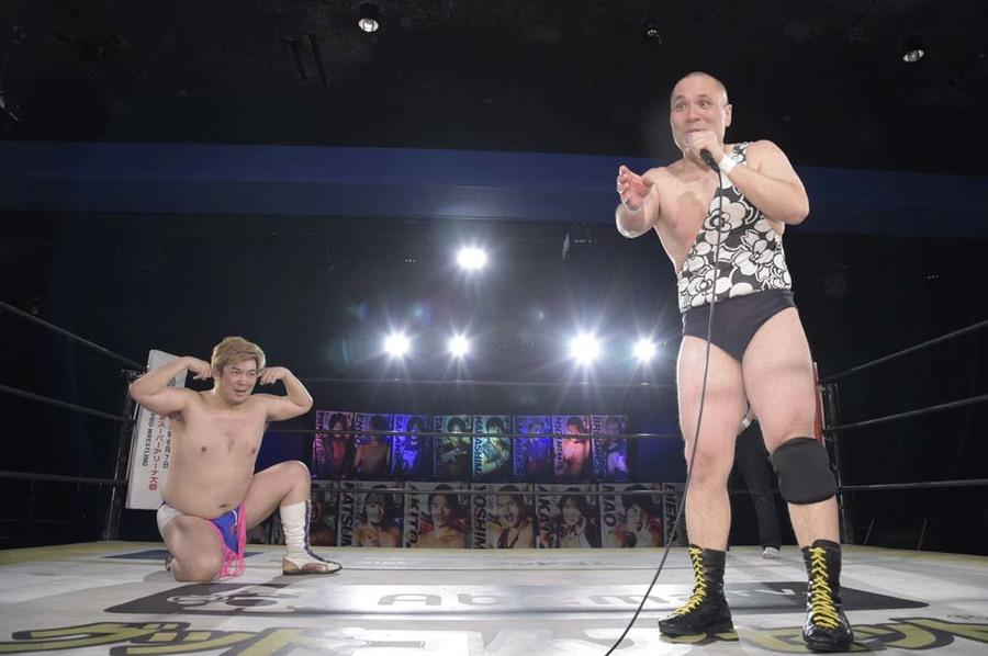 "DDT: ""DDT TV Show! #4"" Masato Tanaka se afianza a su cinturón 2"