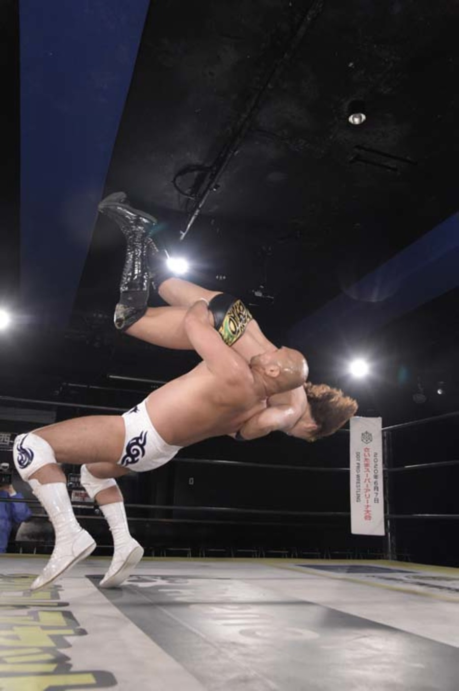 "DDT: ""DDT TV Show! #4"" Masato Tanaka se afianza a su cinturón 3"