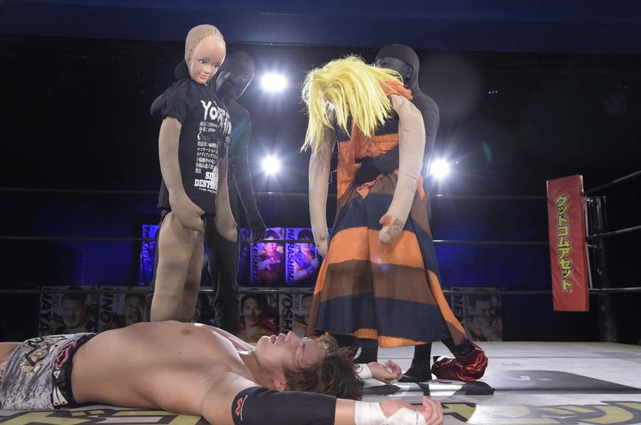 "DDT: ""DDT TV Show! #4"" Masato Tanaka se afianza a su cinturón 6"